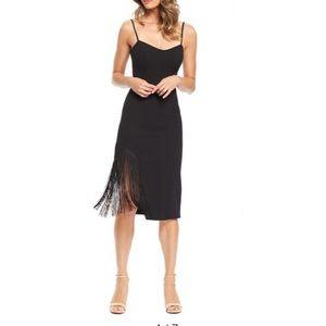 NWOT Dress the Population Rory Midi Dress